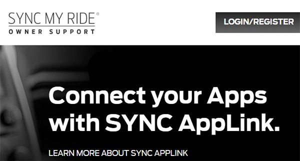 Manage Syncmyride Ford Owner Account